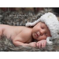 Newborn wool aviator hat, Crochet baby aviator pilot hat, Beige aviator hat