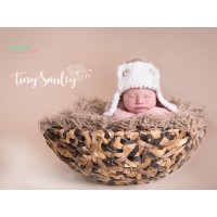 Fluffy crochet aviator hat, Baby hats aviator, Aviator boy hats, Tinysmiley