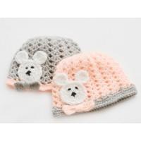 Twin bear ears hats, Teddy bear hats, Twin triplet bear hats, Baby hat with ears