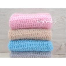Crochet mohair wrap newborn, Mohair baby blanket, Crochet baby blanket wrap
