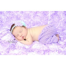 Lilac newborn baby pants, Crochet baby outfit pants, Tinysmiley