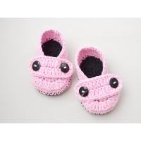 Newborn crochet baby booties, Crochet baby shoes, Handmade baby booties