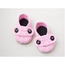 Newborn crochet baby booties, Crochet baby shoes, Handmade baby booties