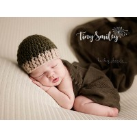 Dark green baby boy hat, Crochet newborn hat, Baby boy hat, Crochet baby hat, Hospital baby hats, Newborn outfits, Baby boy outfit, Baby boy hats
