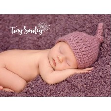 Knot Newborn Crochet Hat