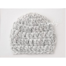 Gray Baby Boy Hat Newborn Boy Hat