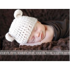 Bear Baby Hat Baby Hat with Ears