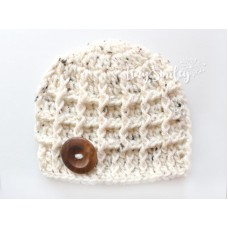Oatmeal Baby Boy Hat