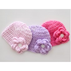Newborn Girl Hat