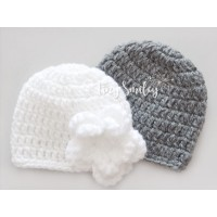 Twin baby girl hats, Hospital girl outfit, Crochet twin hats, Hats twins girls