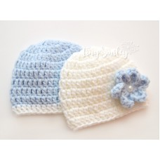 Twin Baby Girl Boy Hat Hats Hospital Hats