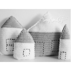 Little Houses Pillows Home Decoration