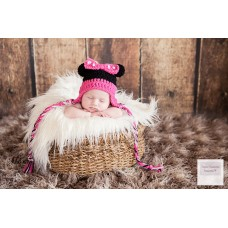 Baby Hat Mouse Hat Earflap Baby Girl Hat