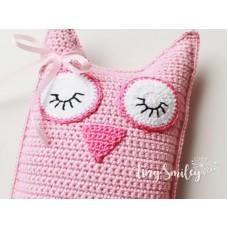 Crochet Owl Amigurumi Toy